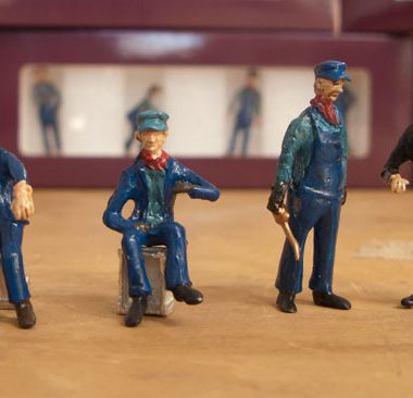 RailRoadAvenue Models O Scale Figures Set 3