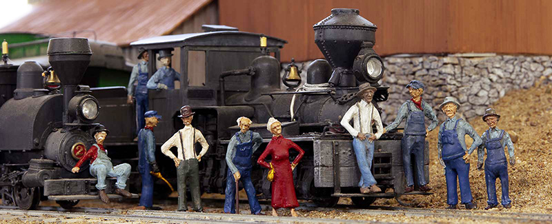 O Scale Figures RailRoadAvenue Models